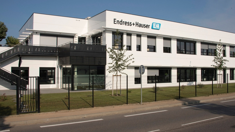 Facility of Endress+Hauser and Kaiser Optical Systems Kaiser in Lyon, France.