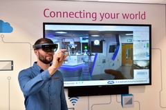 Endress+Hauser training centre Hololens