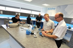 Get hands-on training in the Workshop at Endress+Hauser's UK training centre.