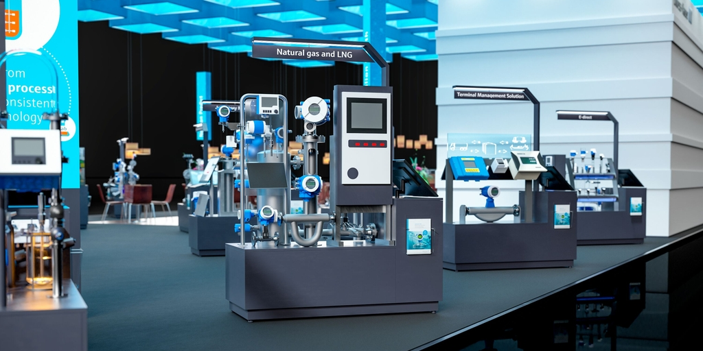 Endress+Hauser virtual exhibition stand 2020